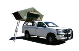 Group V – 4×4 Toyota Single Cab 1 tent