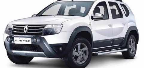 Group K4 – 4×4 Renault Duster or similar