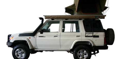 Group L76 – Land Cruiser 4×4 Double Cab with 1 tent