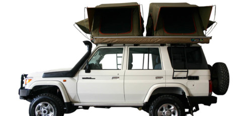Group L76 – Land Cruiser 4×4 Double Cab with 2 tents