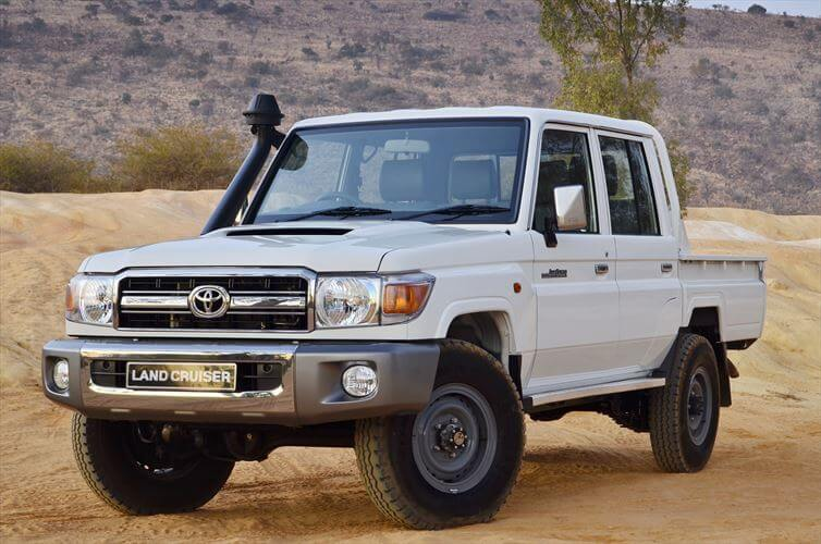 Group L79 – Land Cruiser 4×4 Double Cab